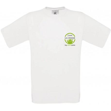 T-shirt homme J'aime la chasse