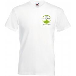 T-shirt homme col en V